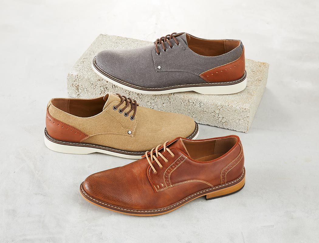 assorted Madden oxfords