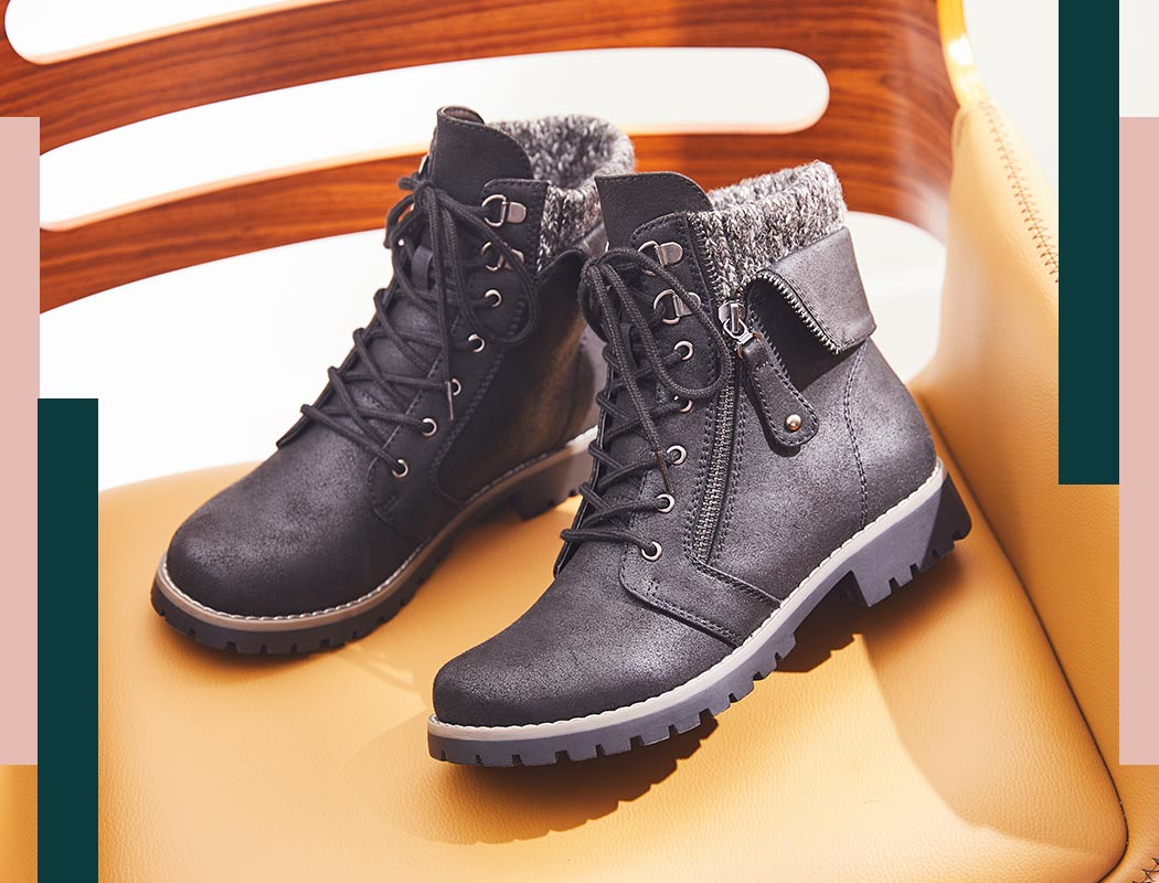 cliff combat style boots