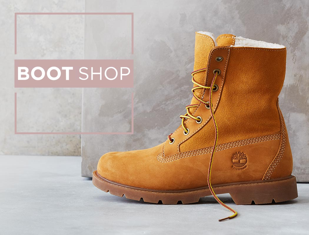 Boot Shop logo, timberland boot