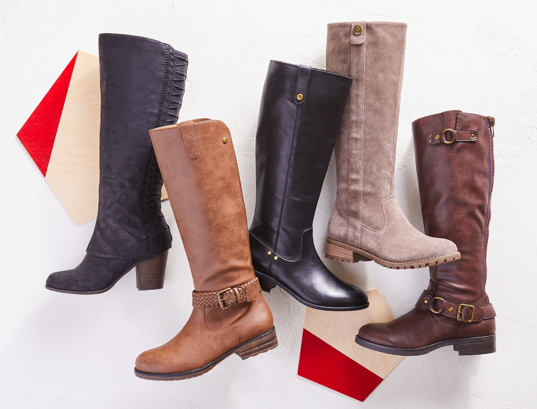 assorted tall riding boots, by ralph lauren, tommy hilfiger, madden girl and more