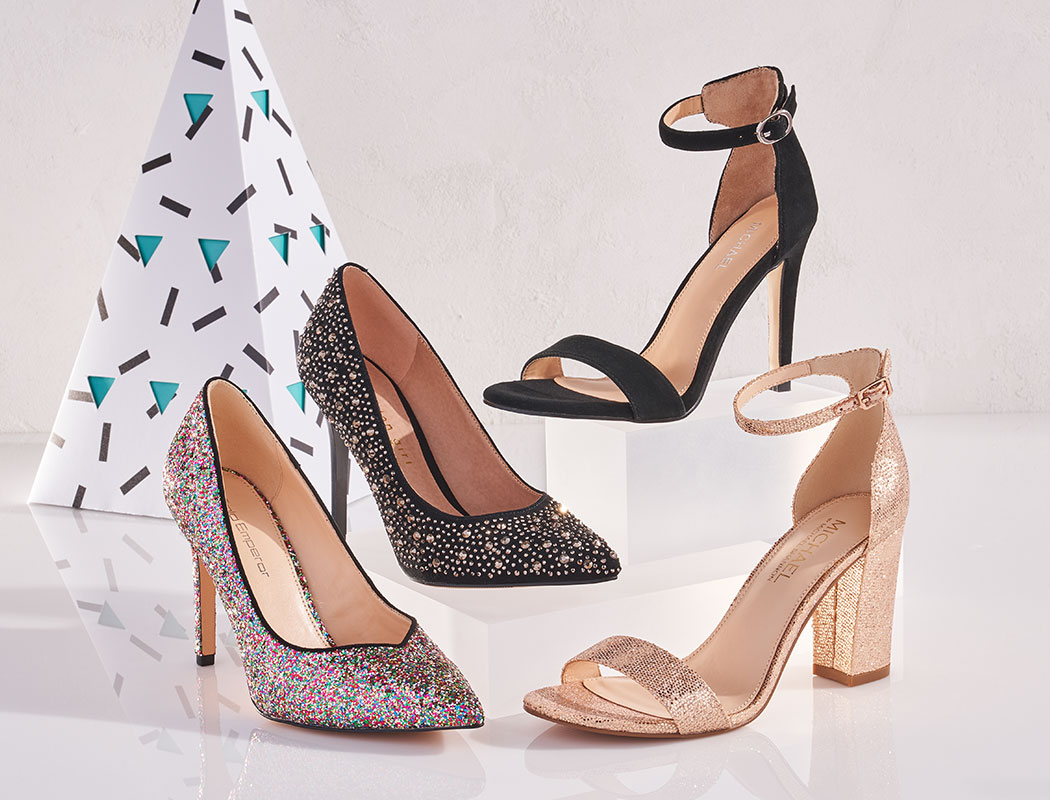 assorted womens dress heels, by Limelight, Madden girl, and other