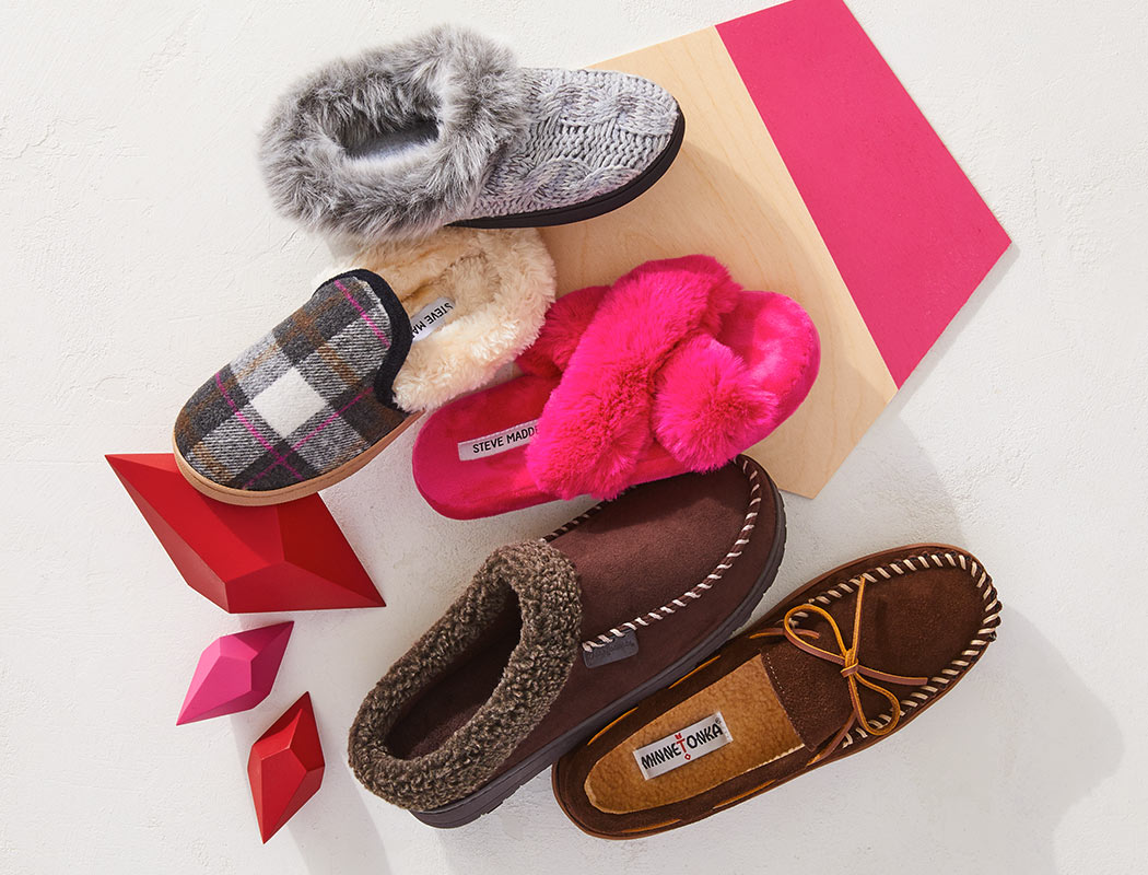 assorted slippers