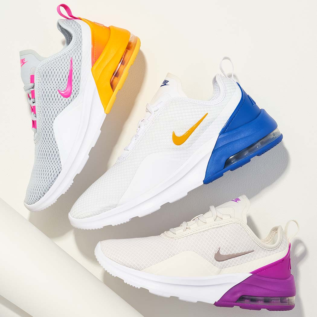 assorted nike air max athletic shoes