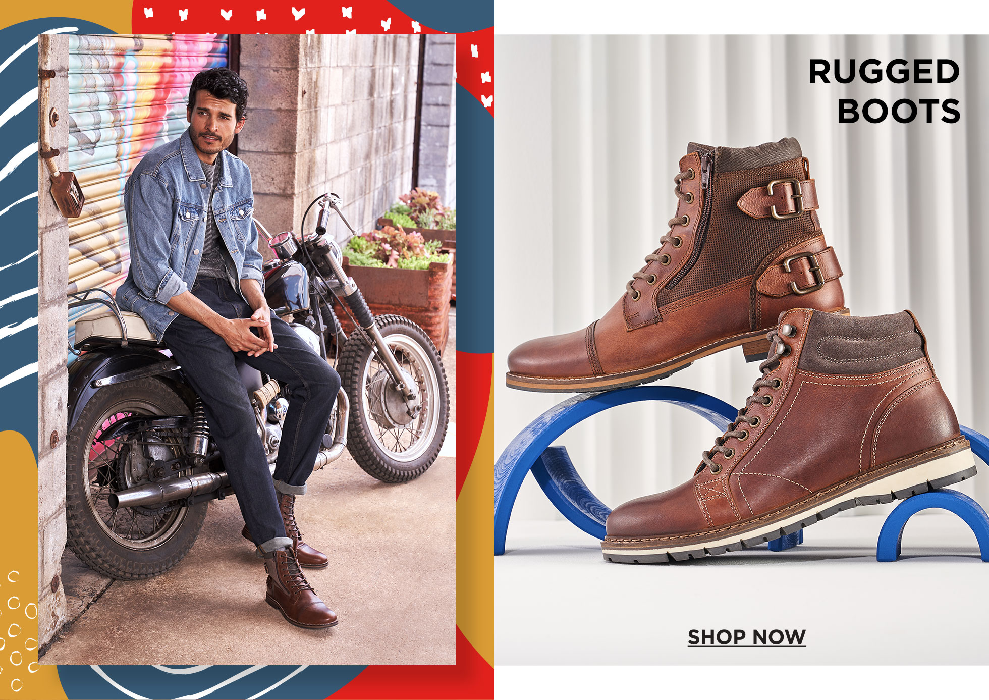 Rugged Boots: Shop Now