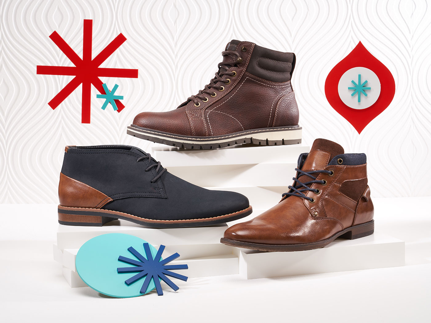assorted stylish mens boots