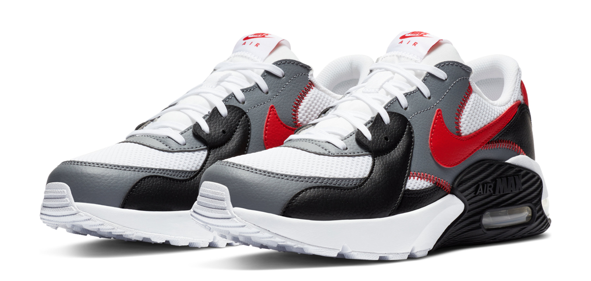 black and red nike air motion